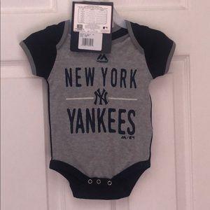 New York Yankees onesies